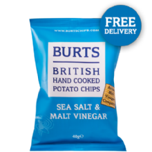 Sea Salt & Malt Vinegar 20 x 40g
